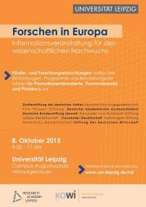 Forschen in Europa